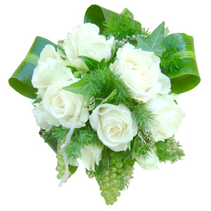 Bouquet rose bianche