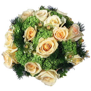 Bouquet rose pesca